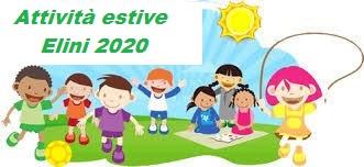 attività estive Elini 2020